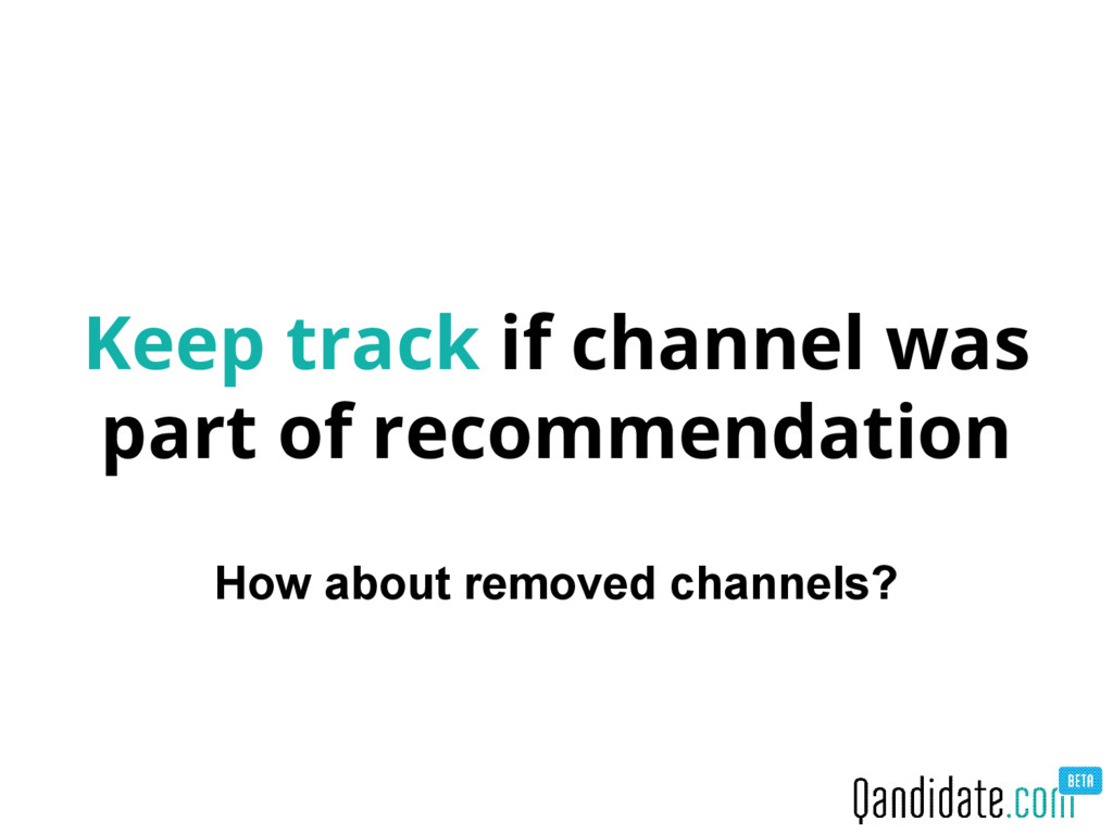 Keep track if channel was part of recommendatio...