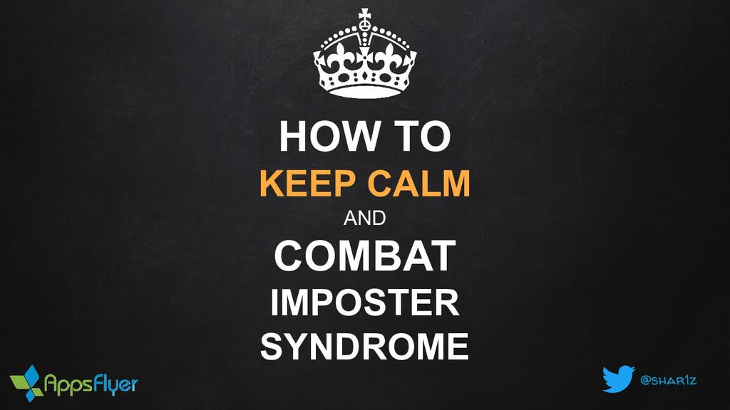 @shar1z HOW TO KEEP CALM AND COMBAT IMPOSTER SY...