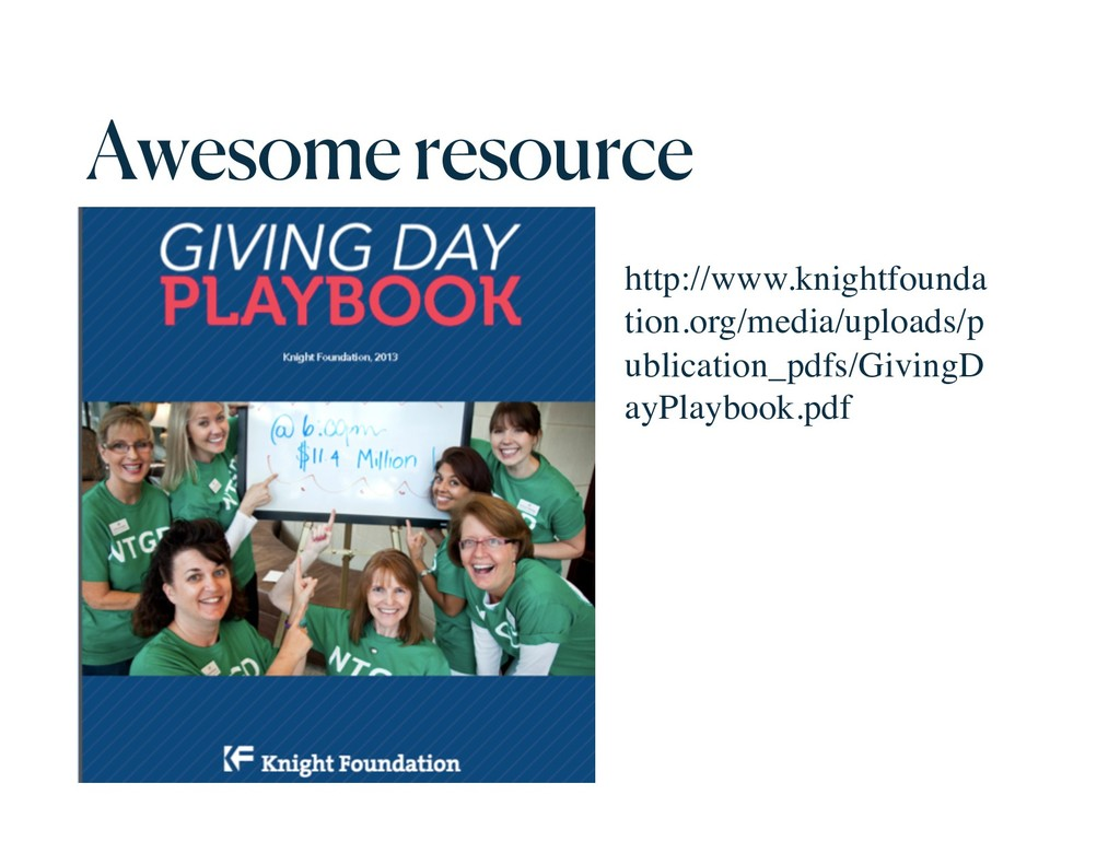Awesome resource http://www.knightfounda tion.o...