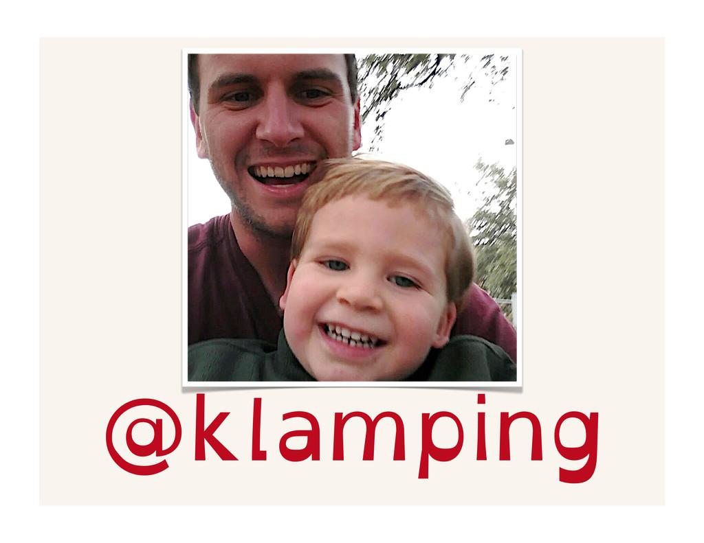 @klamping