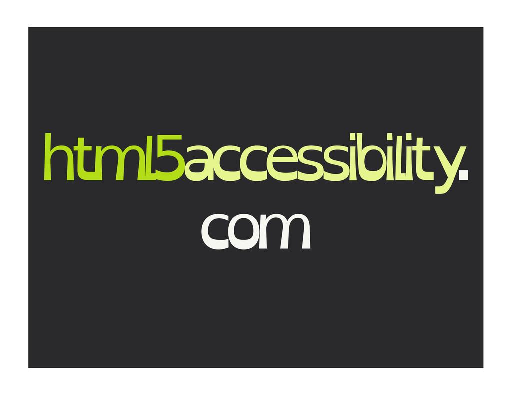 html5accessibility . com