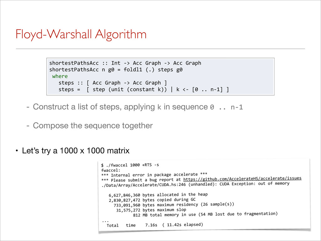 Floyd-Warshall Algorithm - Construct a list of ...
