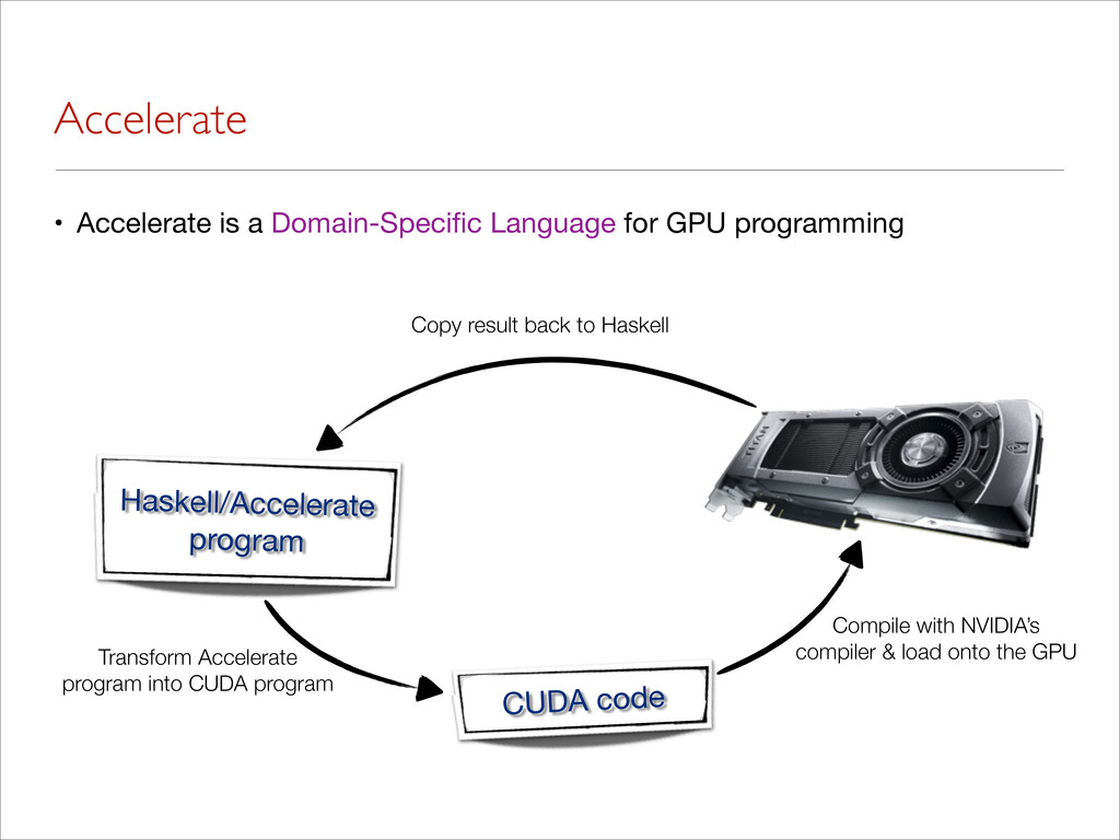 Accelerate • Accelerate is a Domain-Specific Lan...