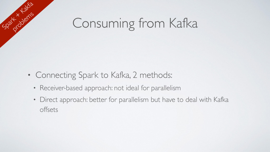 Consuming from Kafka • Connecting Spark to Kafk...