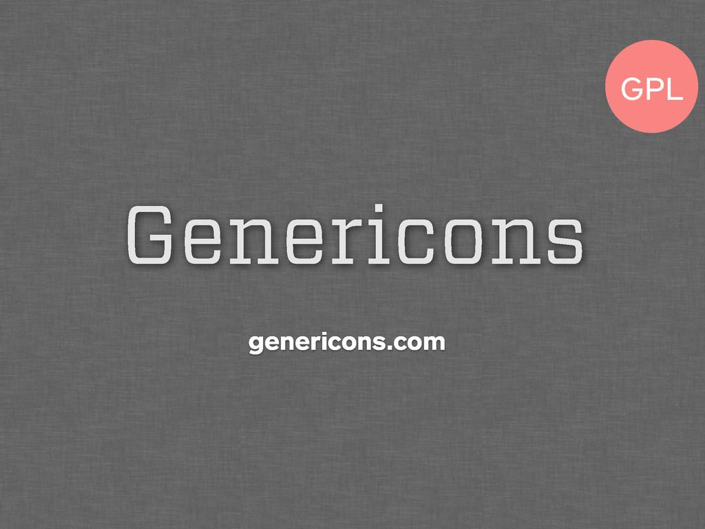 Genericons genericons.com GPL