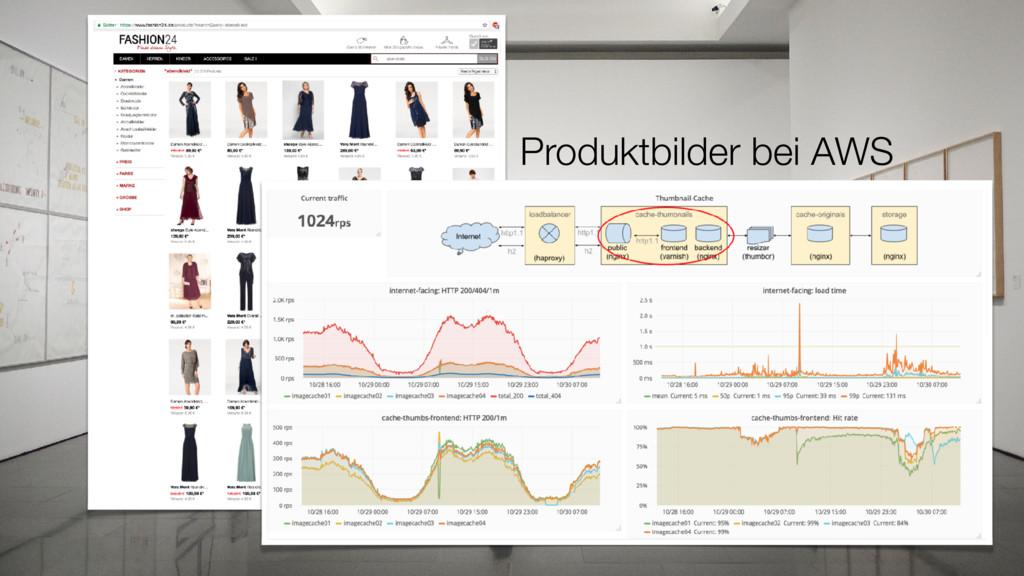 Produktbilder bei AWS