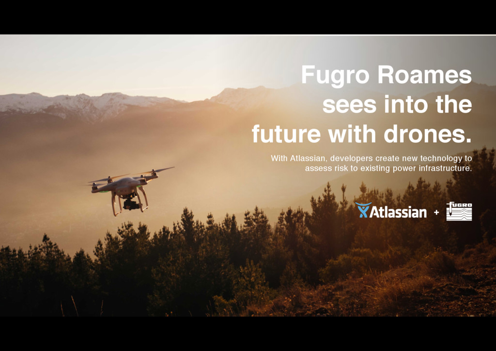 Fugro Roames sees into the future with drones....