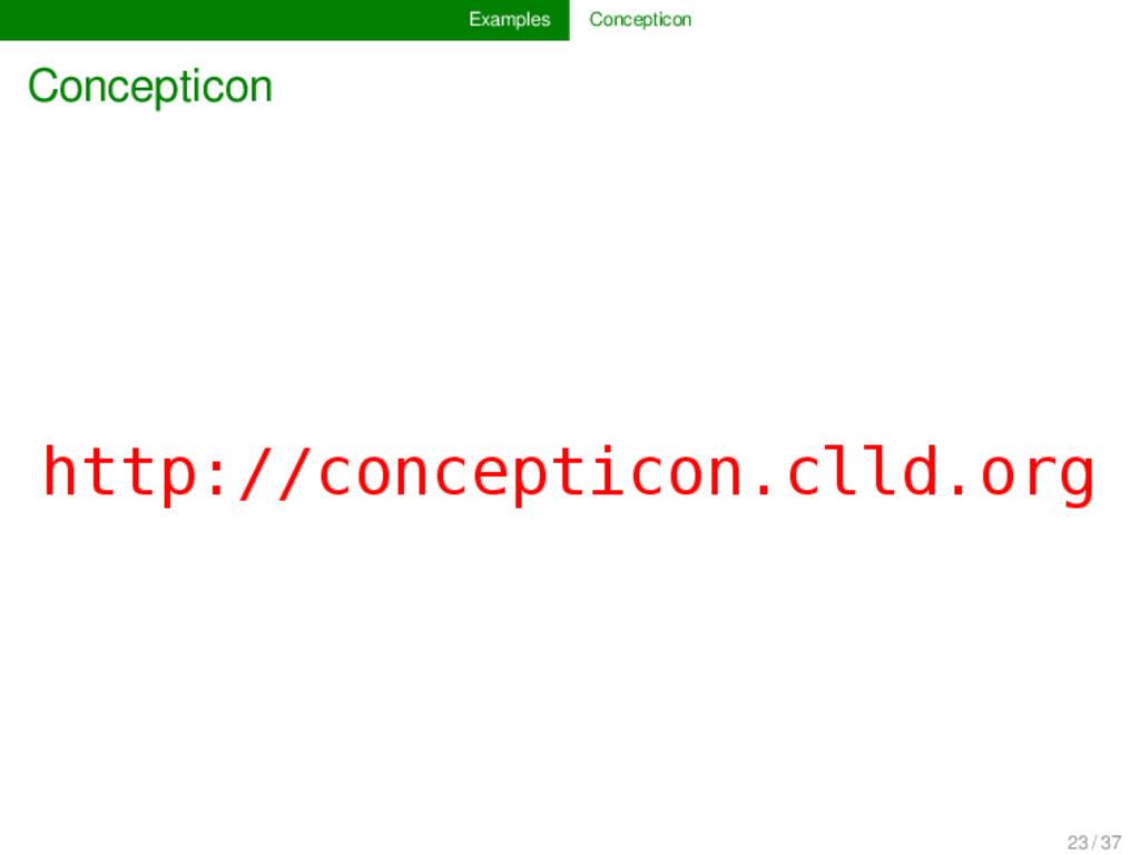 Examples Concepticon Concepticon http://concept...