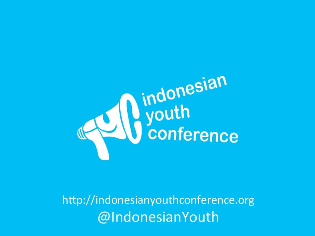 h`p://indonesianyouthconference.org