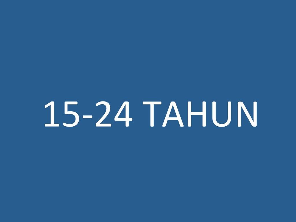 15‐24TAHUN