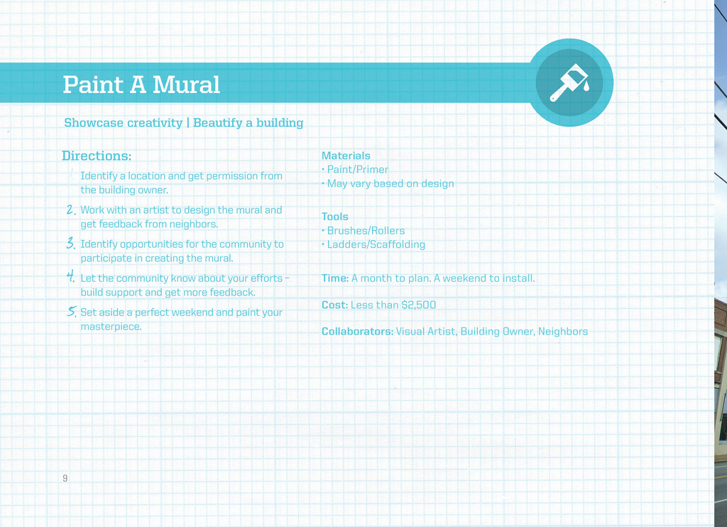 Paint A Mural Directions: Materials • Paint/Pri...