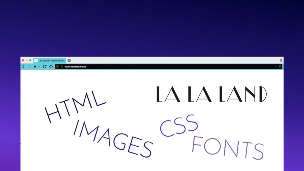 LA LA LAND HTML CSS IMAGES FONTS