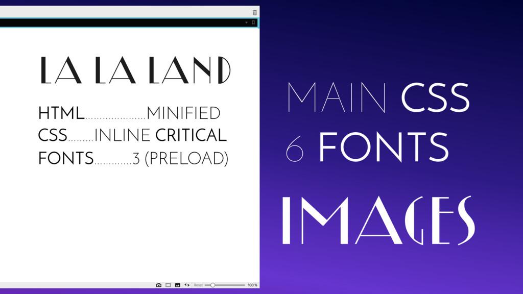LA LA LAND MAIN CSS 6 FONTS IMAGES FONTS………….3 ...