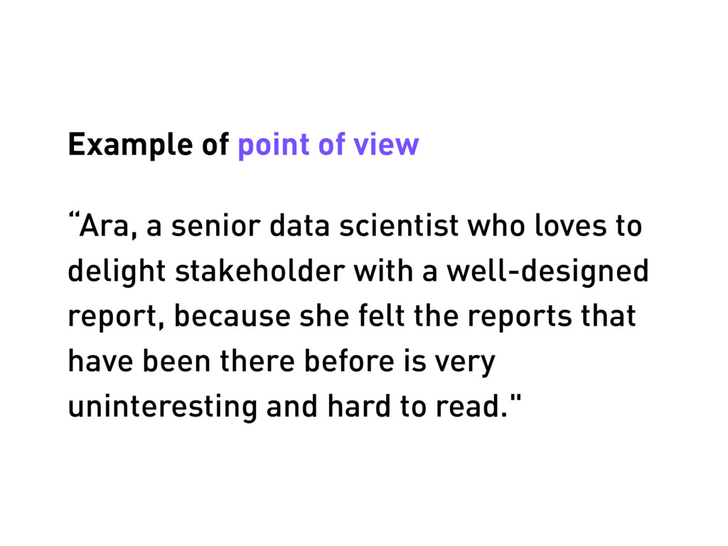 """Ara, a senior data scientist who loves to deli..."
