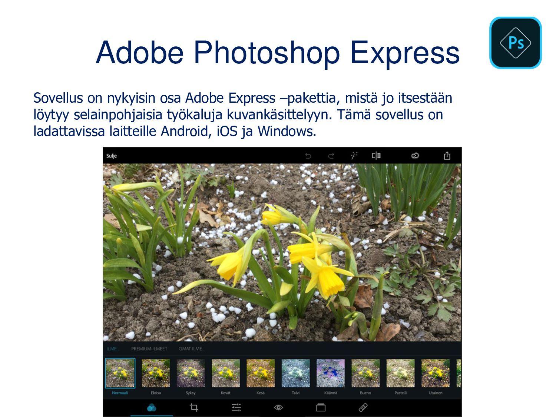 Monipuolinen iMovie (iOS) Monipuolinen sovellus...