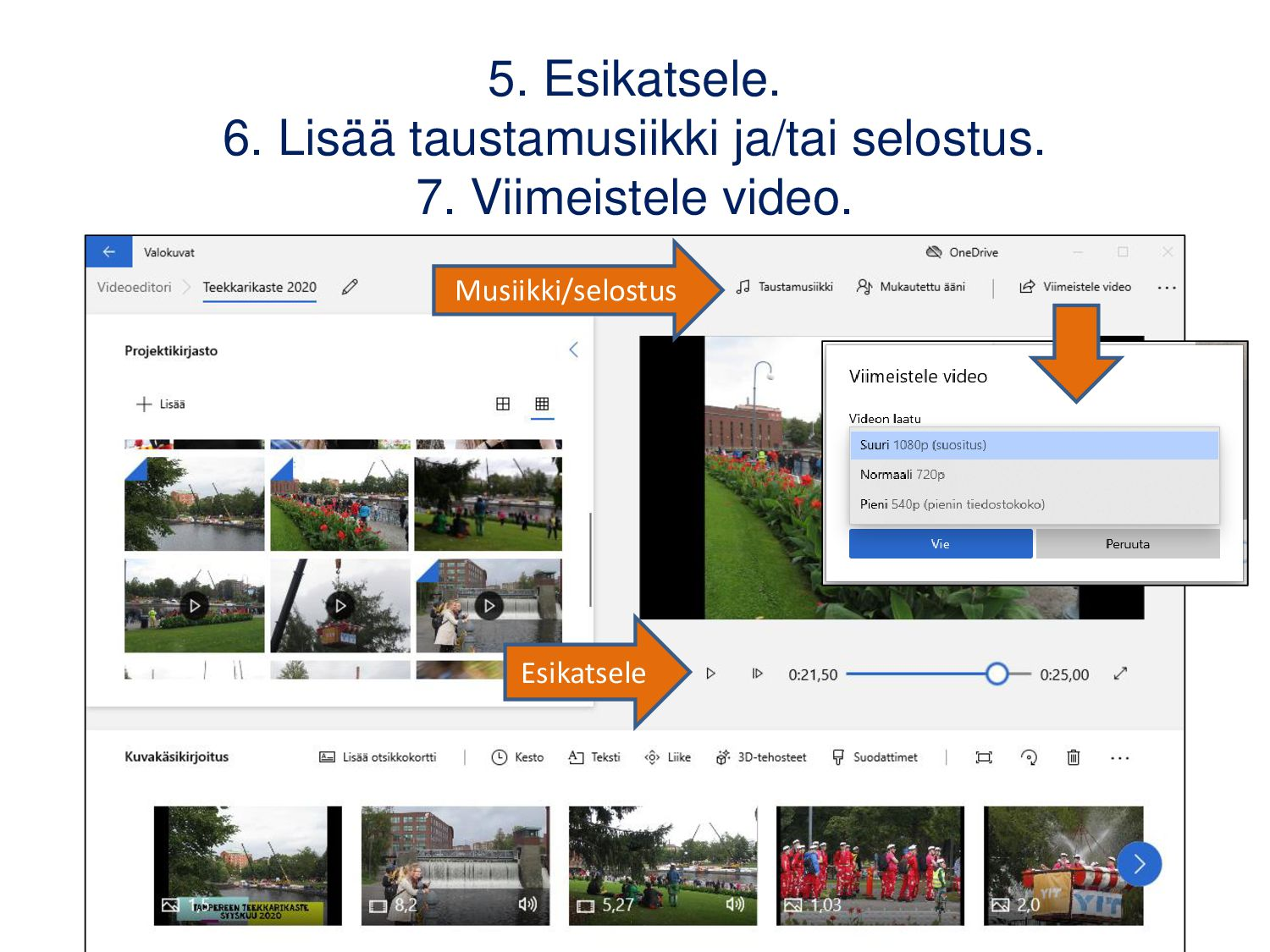 WeVideo 1/2 (Android, iOS, pc) Maksuttomalla ve...