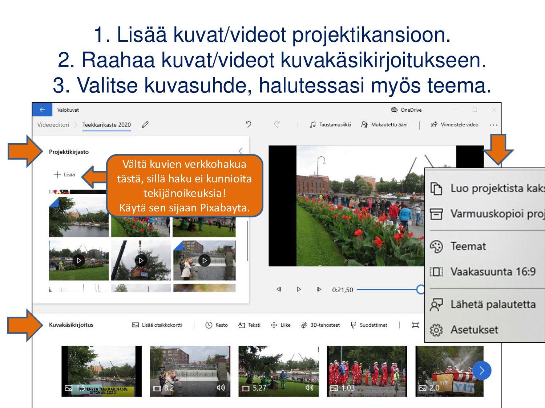Stop Motion Studio (iOS, Android) Ajastettu kuv...