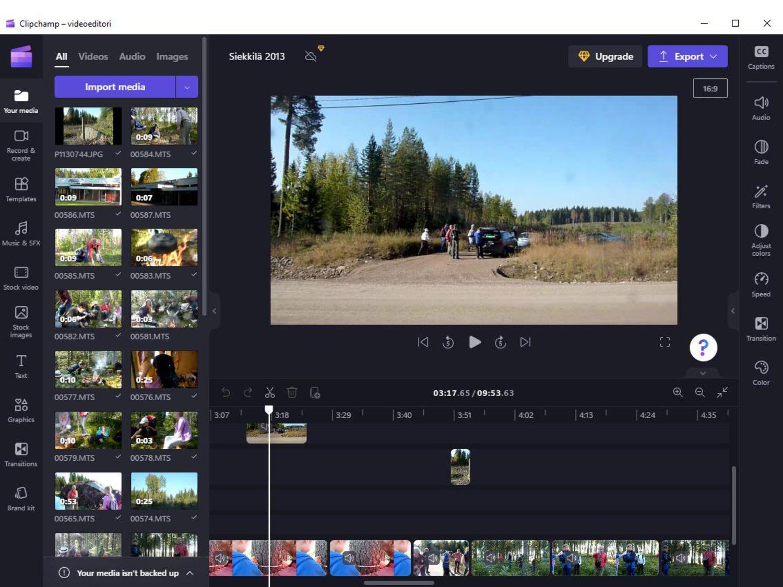 Kolme sovellusta: spark.adobe.com Spark Video (...