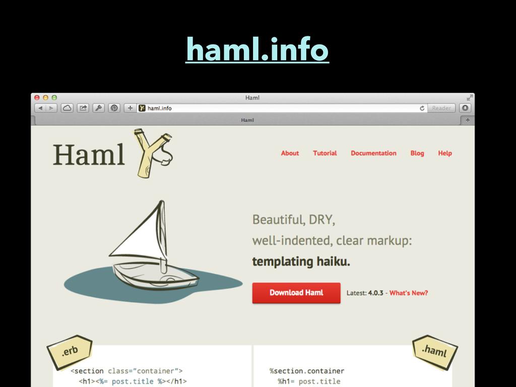 haml.info