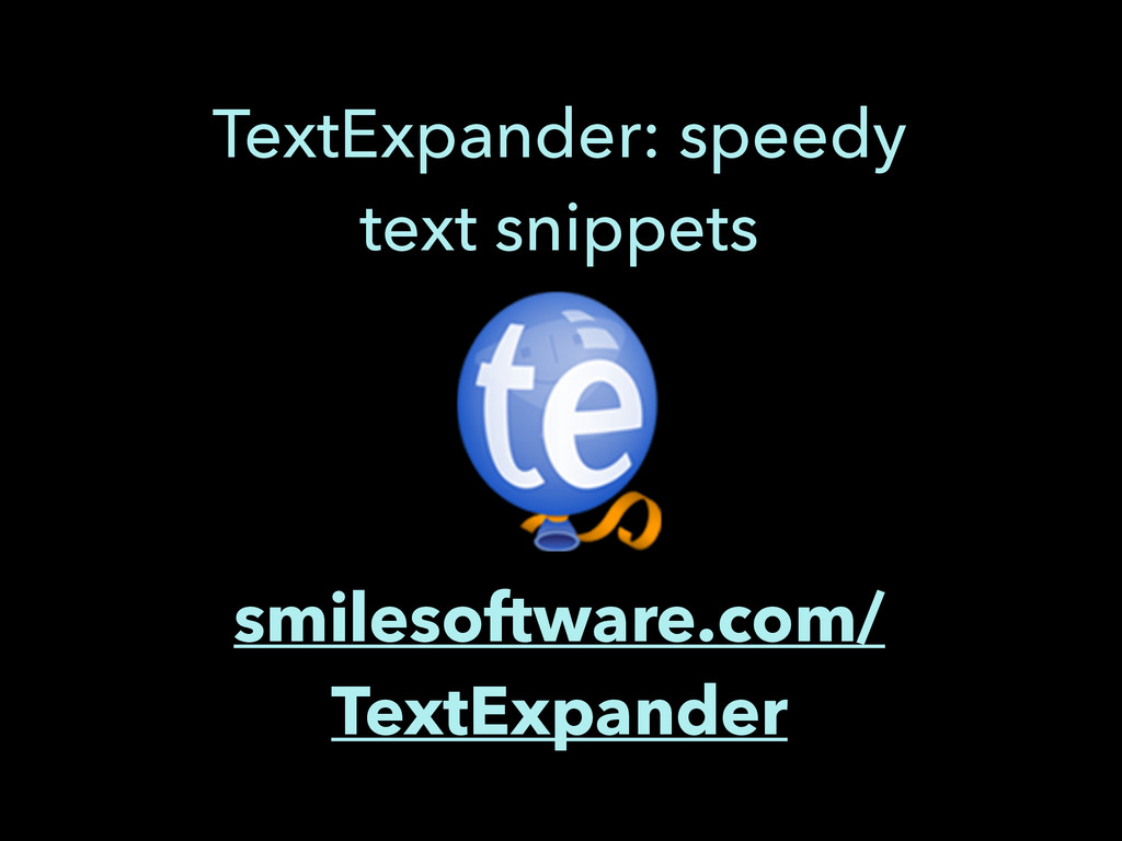 smilesoftware.com/ TextExpander TextExpander: s...