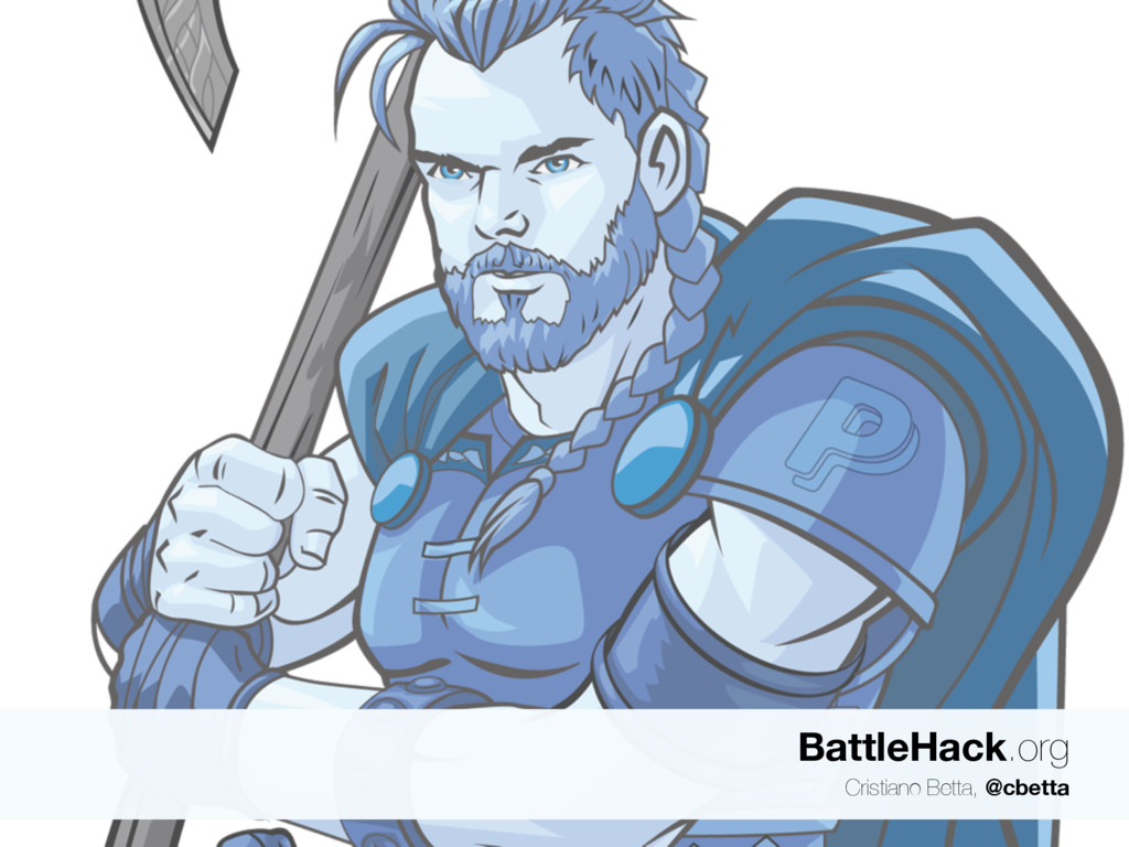BattleHack.org Cristiano Betta, @cbetta