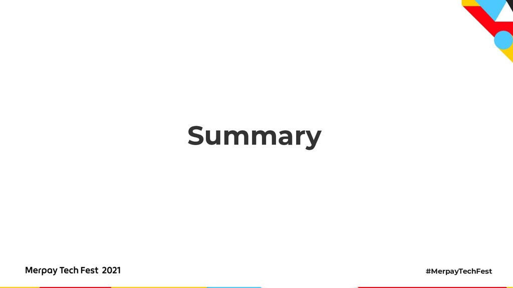 #MerpayTechFest Summary