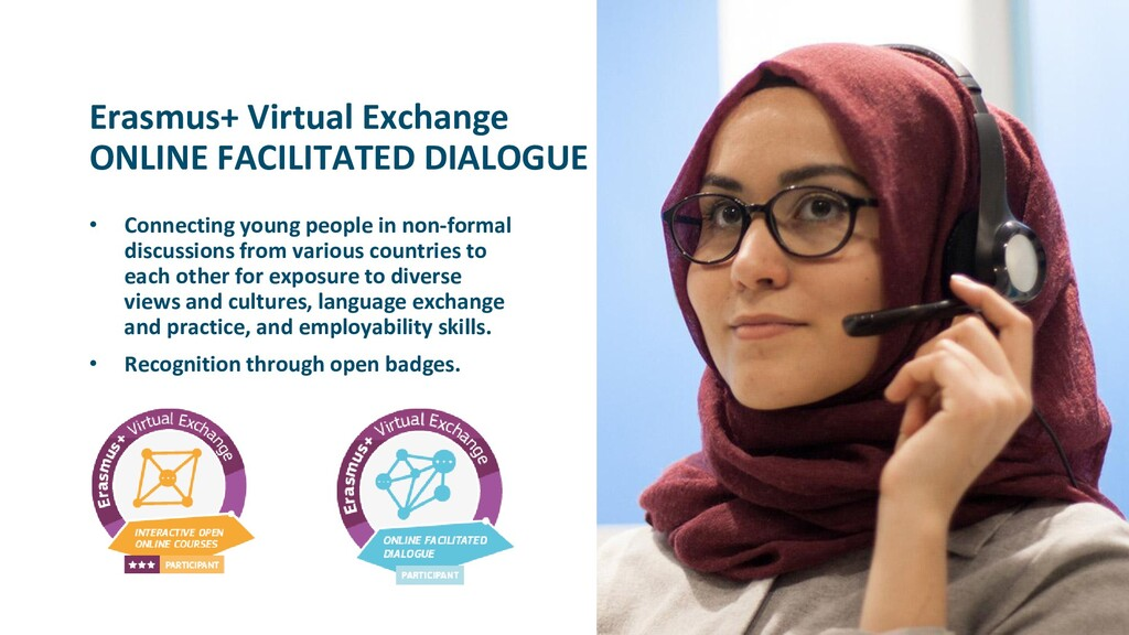 Erasmus+ Virtual Exchange ONLINE FACILITATED DI...