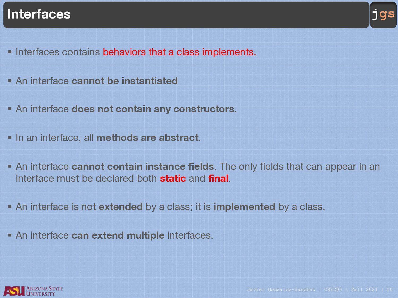 jgs Object Class