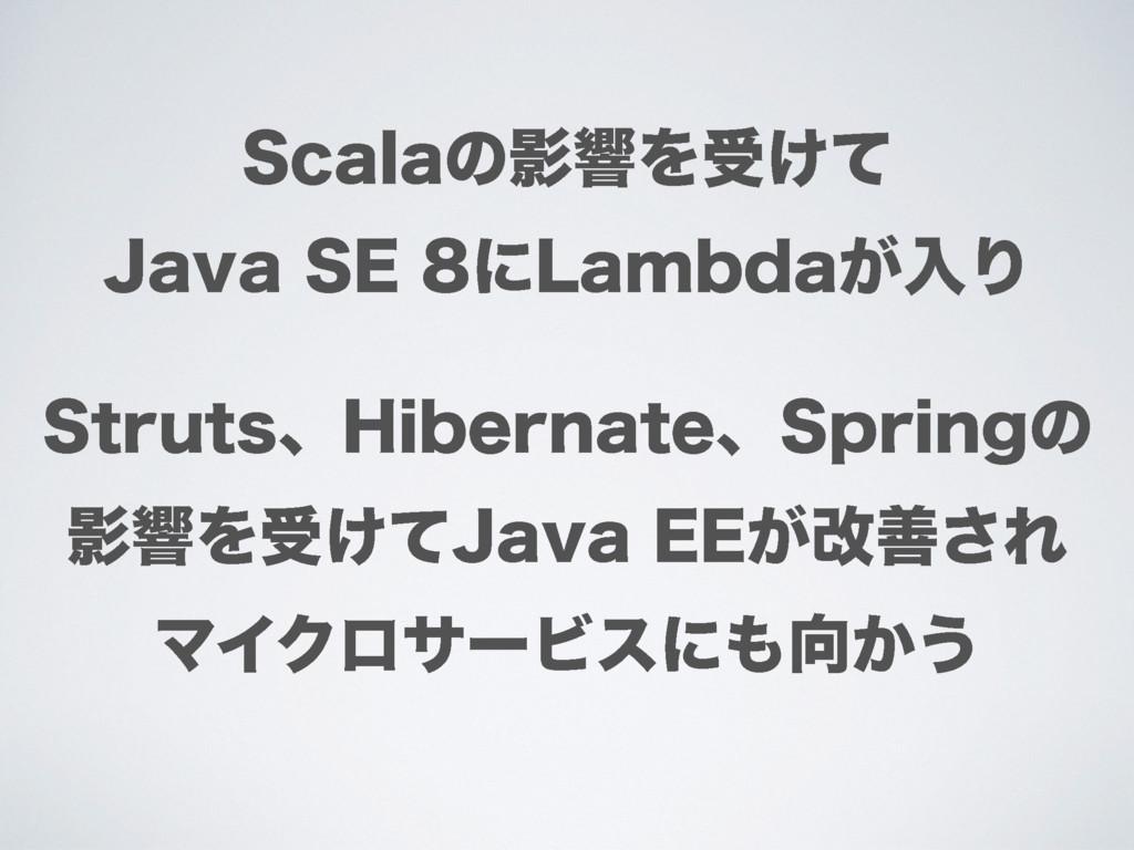 4DBMBͷӨڹΛड͚ͯ +BWB4&ʹ-BNCEB͕ೖΓ 4USVUTɺ)JCFS...