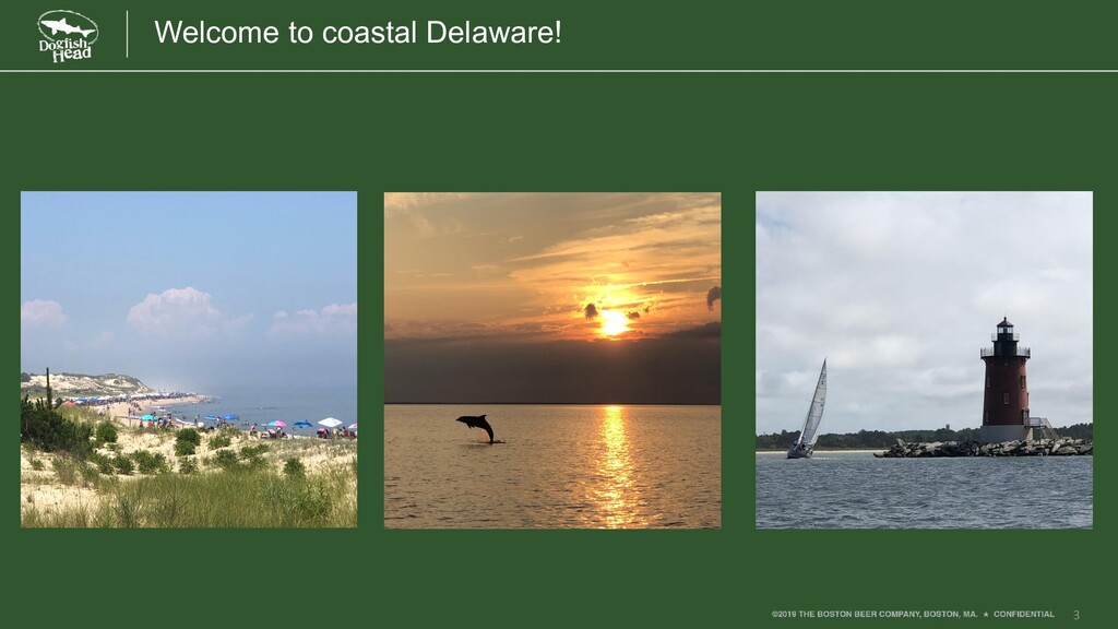 3 Welcome to coastal Delaware!