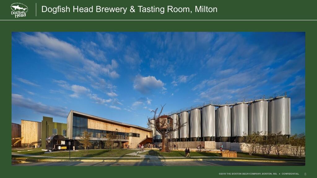 8 Dogfish Head Brewery & Tasting Room, Milton