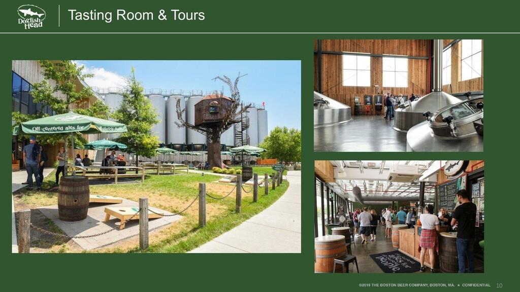 10 Tasting Room & Tours