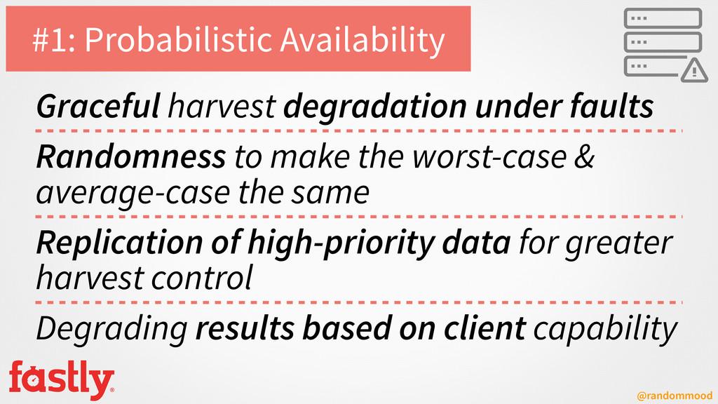@randommood #1: Probabilistic Availability Grac...