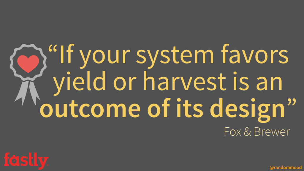 """@randommood """"If your system favors yield or har..."""