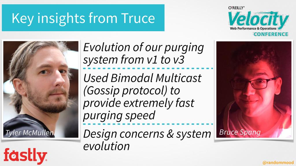 @randommood Key insights from Truce Evolution o...