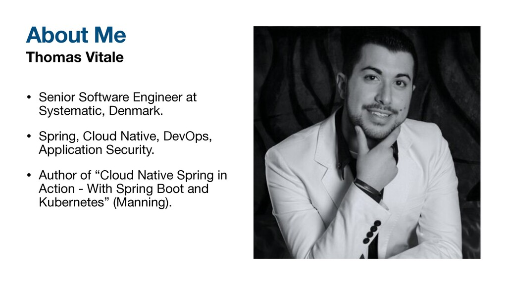 Thomas Vitale • Senior Software Engineer at Sys...