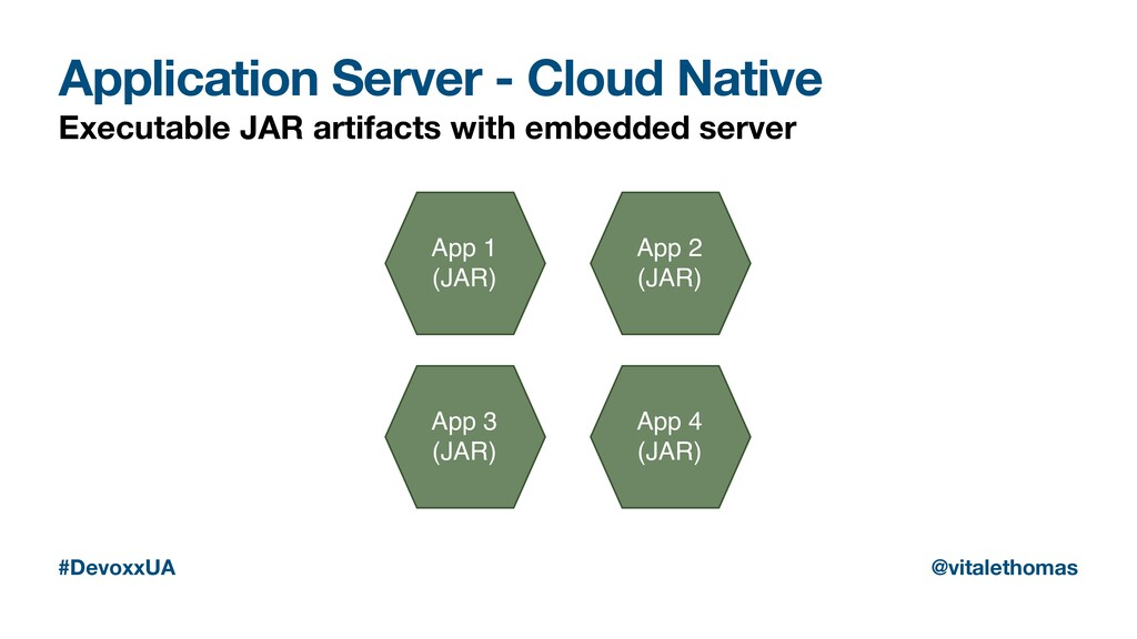 Application Server - Cloud Native Executable JA...