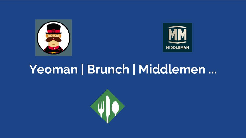 Yeoman | Brunch | Middlemen ...