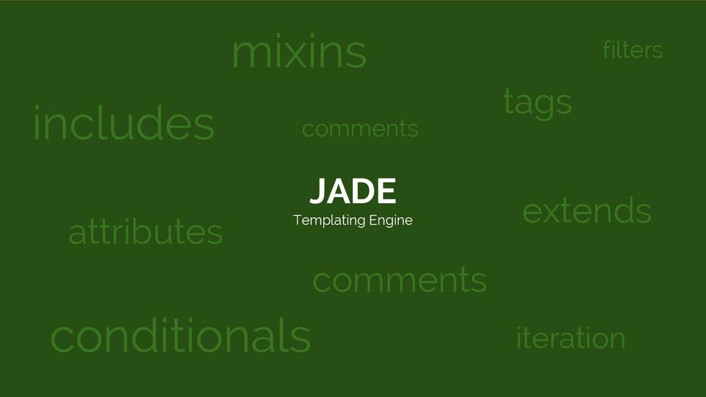 JADE Templating Engine includes conditionals mi...