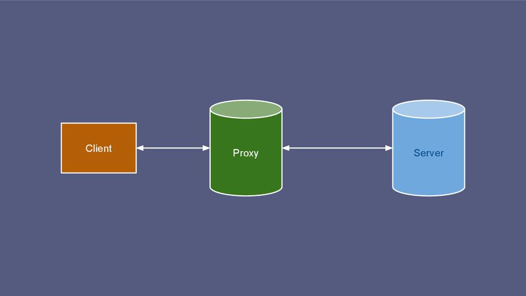 Proxy Server Client