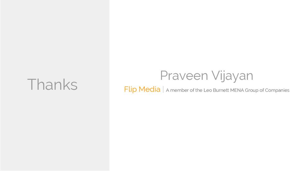 Praveen Vijayan Flip Media | A member of the Le...
