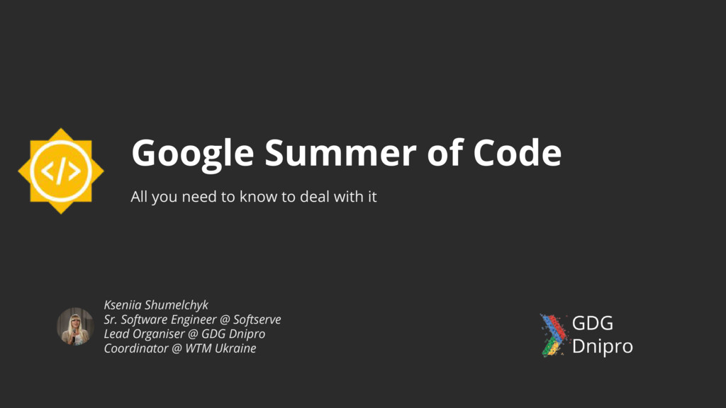 Google Summer of Code All you need to know to d...