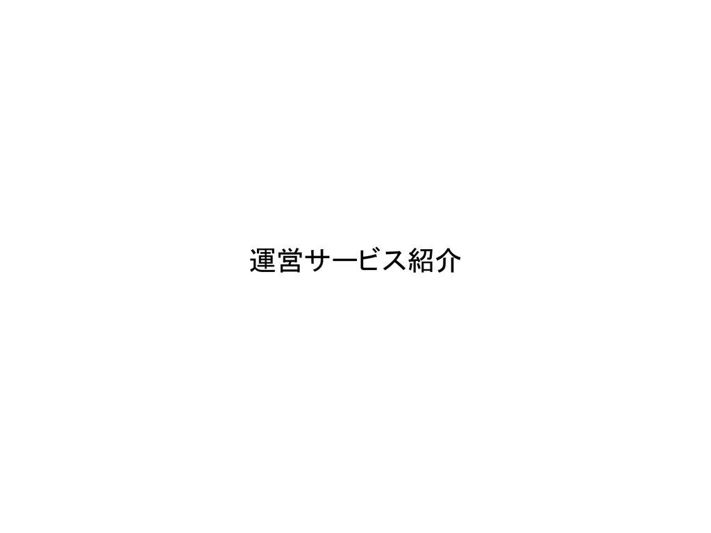 運営サービス紹介