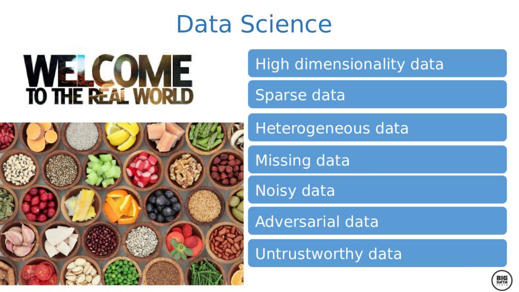 High dimensionality data Sparse data Heterogene...