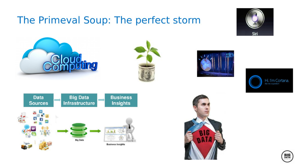 The Primeval Soup: The perfect storm