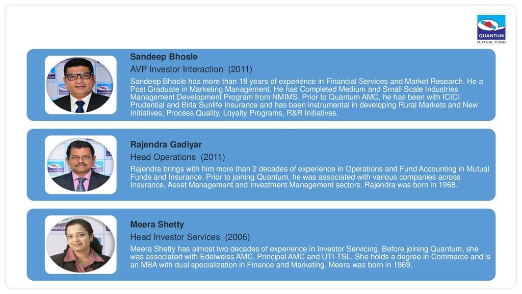 Sandeep Bhosle AVP Investor Interaction (2011) ...