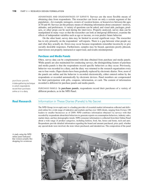 118 PART II • RESEARCH DESIGN FORMULATION A stu...