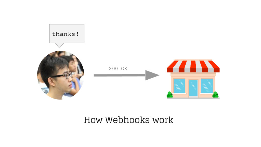 thanks! How Webhooks work 200 OK