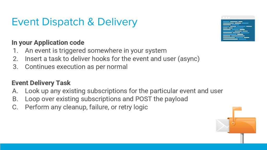 Event Dispatch & Delivery In your Application c...