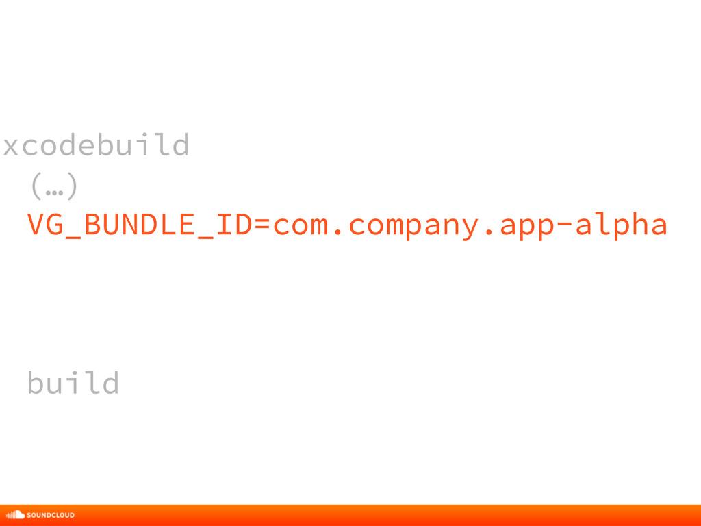 xcodebuild (…) VG_BUNDLE_ID=com.company.app-alp...